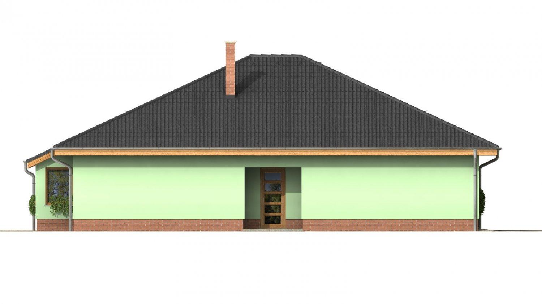 Pohľad 2. - Obľúbený dom s dvojgarážou.