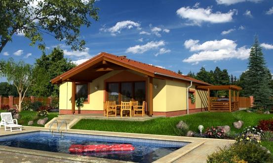 projekt domu BUNGALOW 46