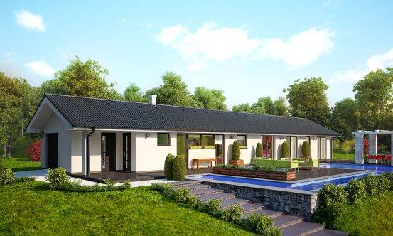 projekt domu BUNGALOW 47