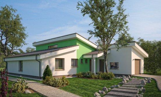 projekt domu BUNGALOW 48