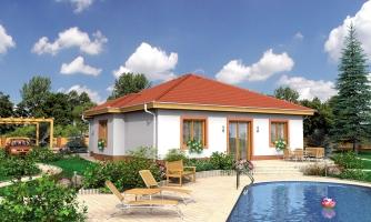 4-izbový dom so stanovou strechou