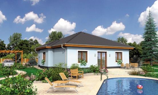 projekt domu BUNGALOW 51