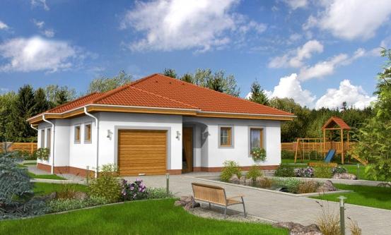 projekt domu BUNGALOW 52