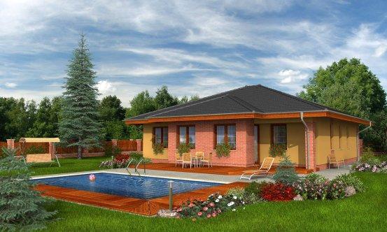 projekt domu BUNGALOW 53