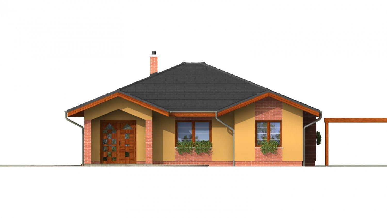 Pohľad 1. - Zaujímavý projekt rodinného domu