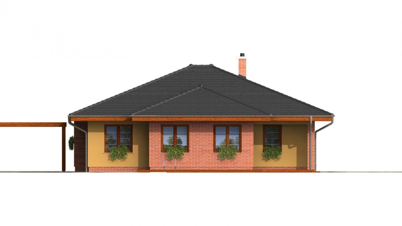 Pohľad 3. - Zaujímavý projekt rodinného domu.