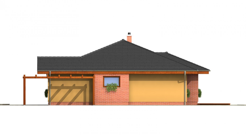 Pohľad 4. - Zaujímavý projekt rodinného domu.