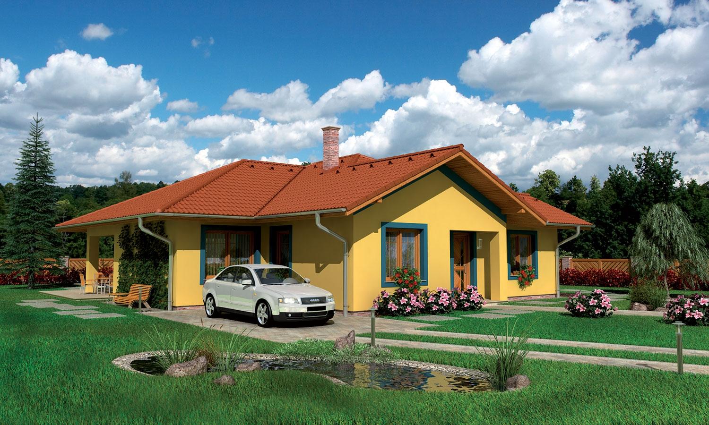 projekt domu BUNGALOW 54