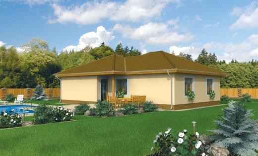 projekt domu BUNGALOW 59