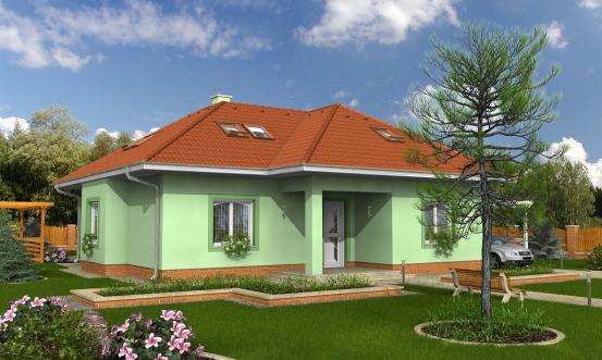 projekt domu BUNGALOW 61