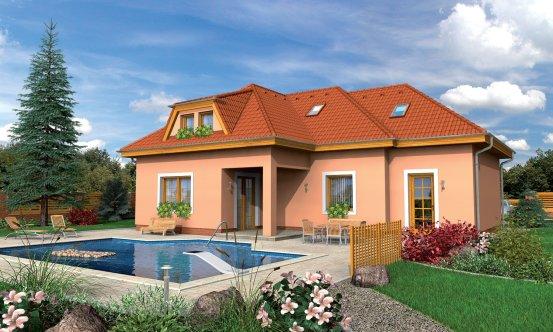 projekt domu BUNGALOW 66