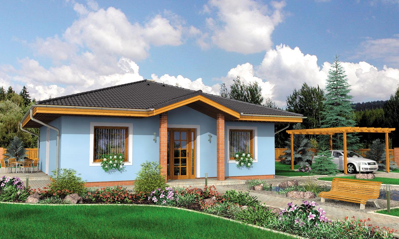 projekt domu BUNGALOW 69