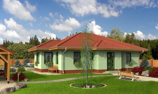 projekt domu BUNGALOW 7