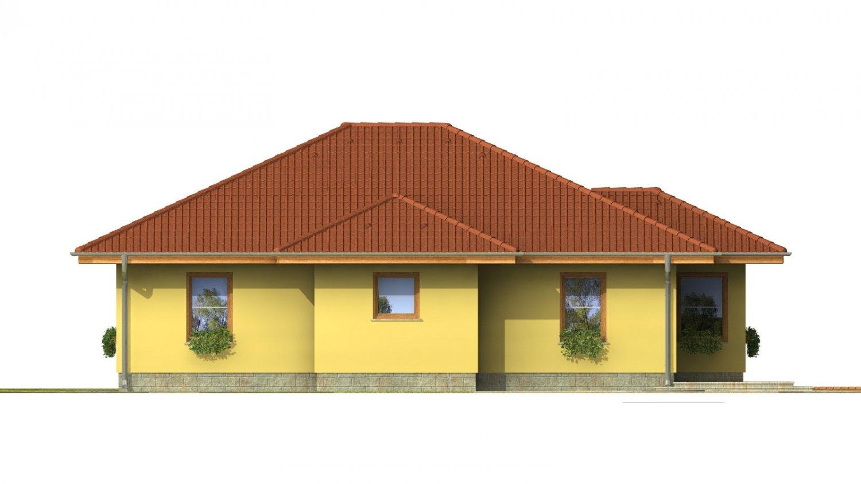 Pohľad 3. - Patrí medzi obľúbené projekty rodinných domov pre menšie rodiny.