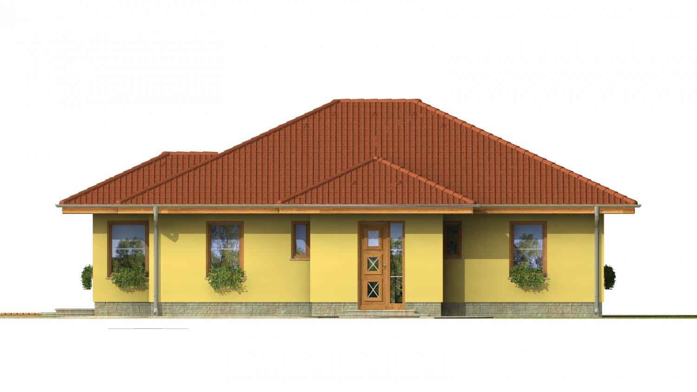 Pohľad 1. - Patrí medzi obľúbené projekty rodinných domov pre menšie rodiny.