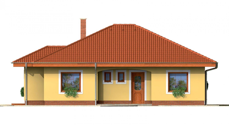 Pohľad 1. - Zaujímavý prízemný rodinný dom.