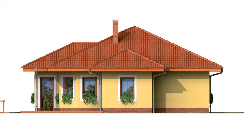 Pohľad 2. - Zaujímavý prízemný rodinný dom.