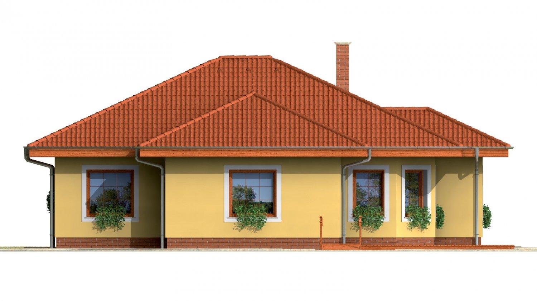 Pohľad 3. - Zaujímavý prízemný rodinný dom.