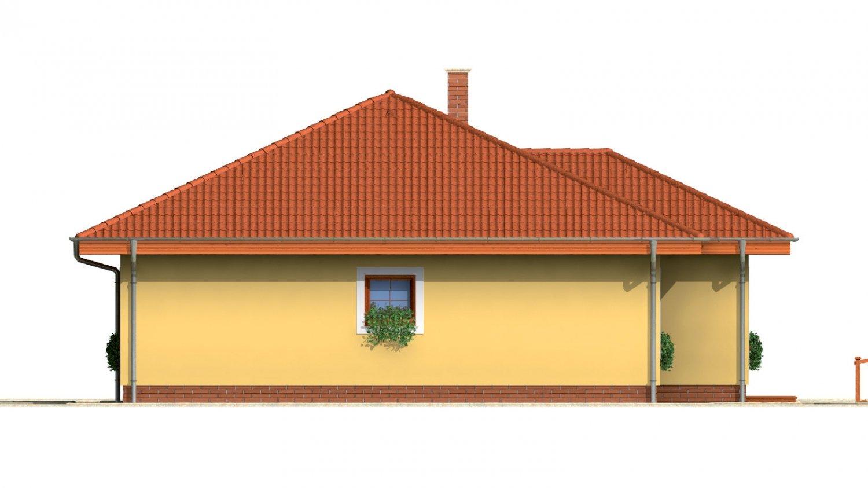 Pohľad 4. - Zaujímavý prízemný rodinný dom.