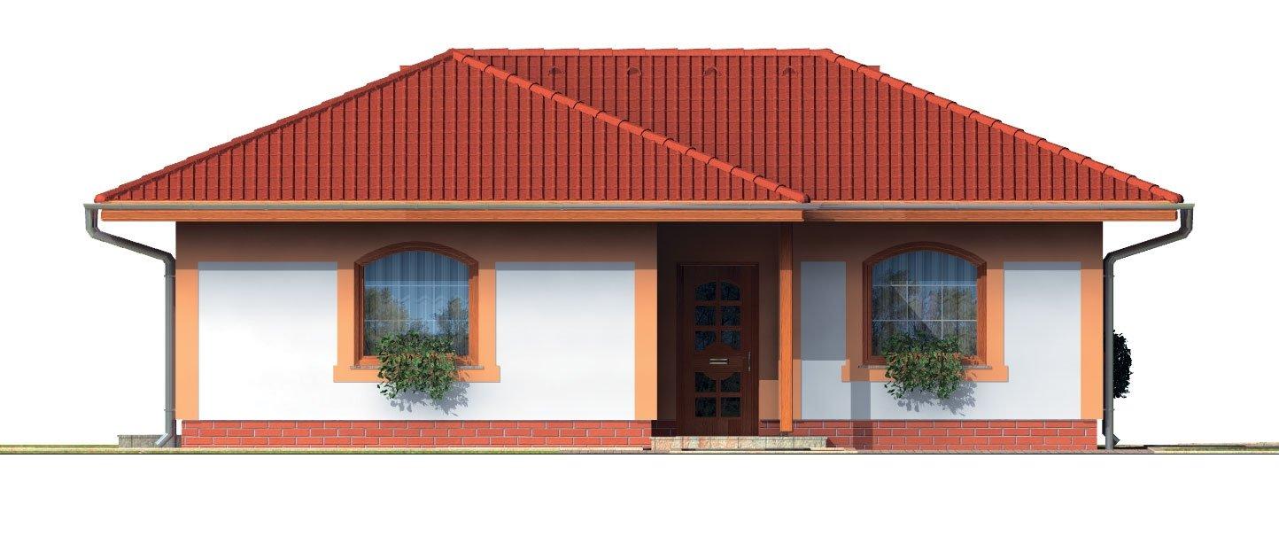 Pohľad 1. - Dom vhodný aj ako záhradná chata.