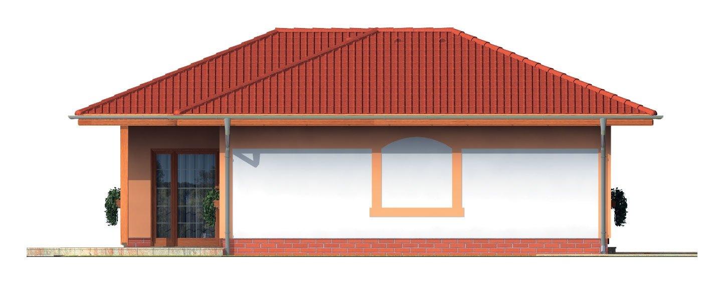 Pohľad 2. - Dom vhodný aj ako záhradná chata.