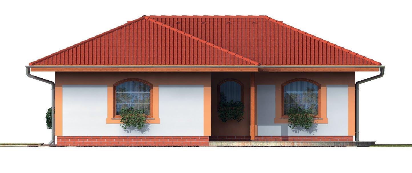 Pohľad 3. - Dom s dobrou dispozíciou miestností