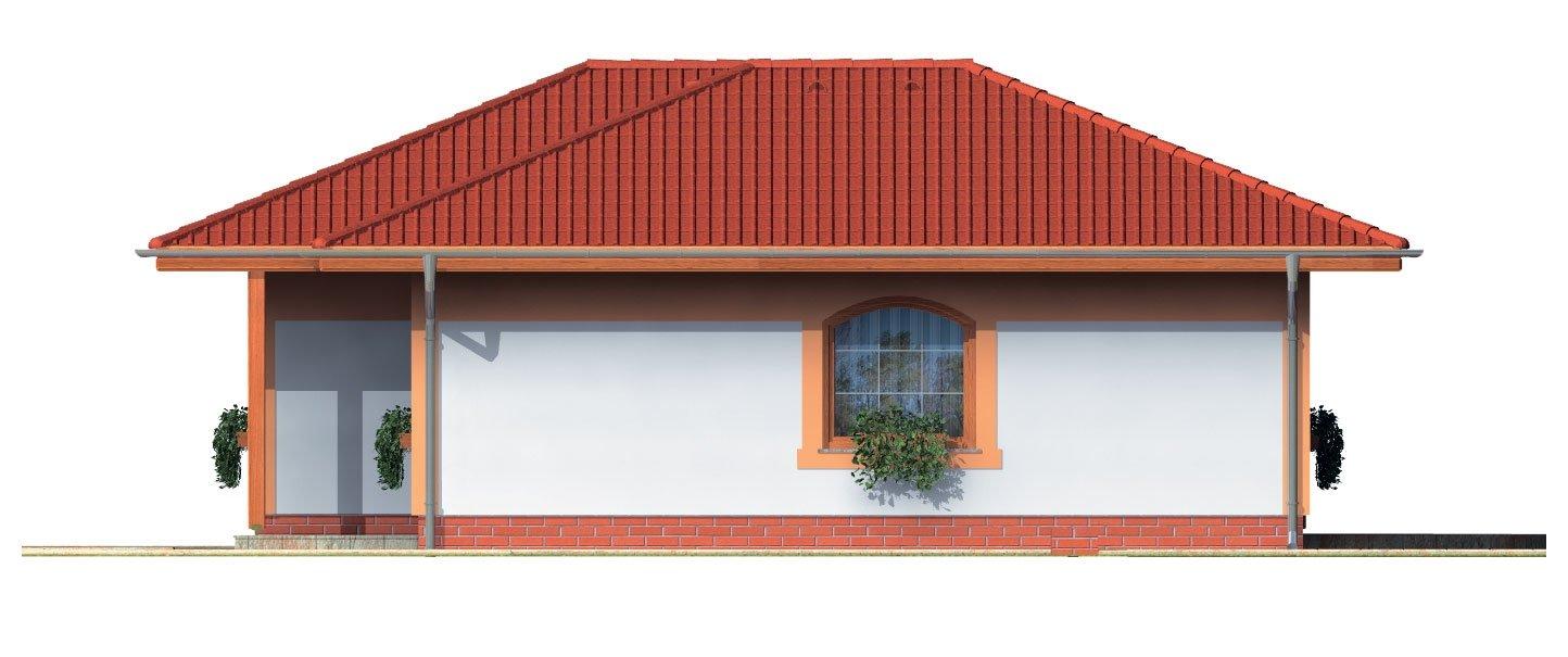 Pohľad 4. - Dom vhodný aj ako záhradná chata.