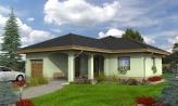 Dom s garážou a terasou