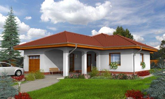 projekt domu BUNGALOW 73