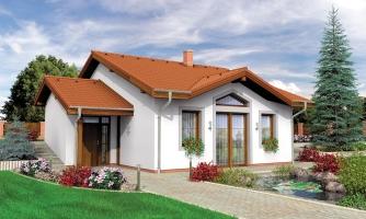 Rodinný dom do svahu, možnosť pristavať garáž, vhodný ako dvojdom