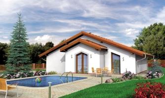 projekt domu BUNGALOW 75