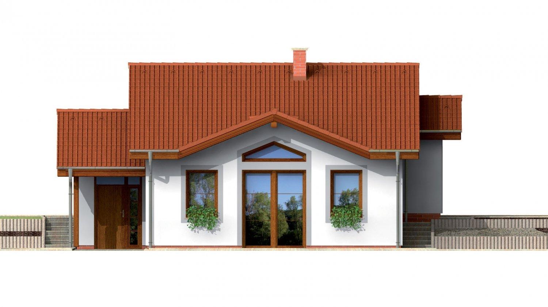 Pohľad 1. - Dom do malého svahu, vhodný pre dvojdom