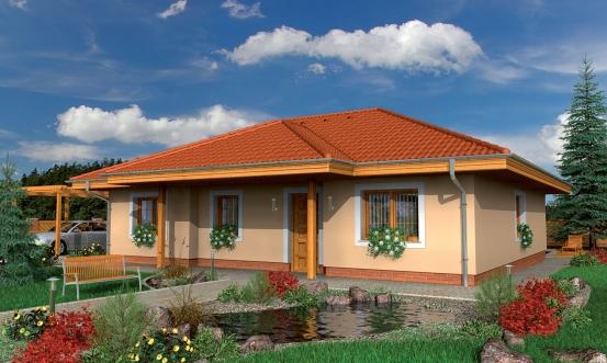 projekt domu BUNGALOW 76