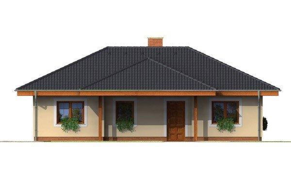 Pohľad 1. - Rodinný dom do L s podpivničením