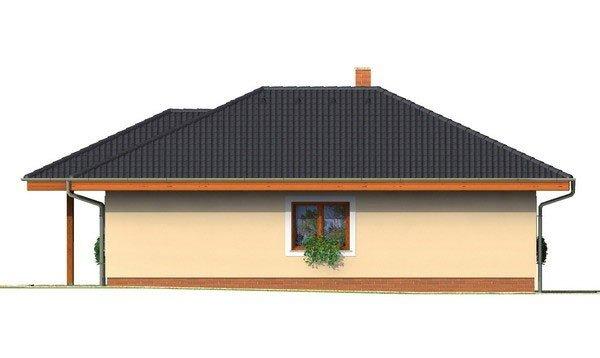 Pohľad 2. - Rodinný dom do L s podpivničením