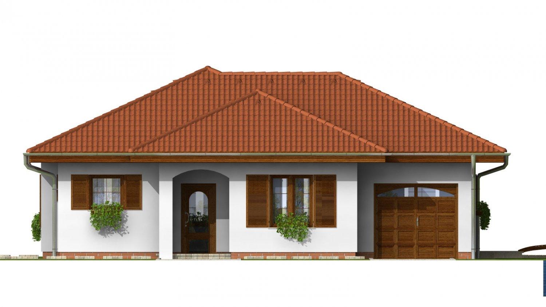 Pohľad 1. - Zaujímavý rodinný dom s garážou