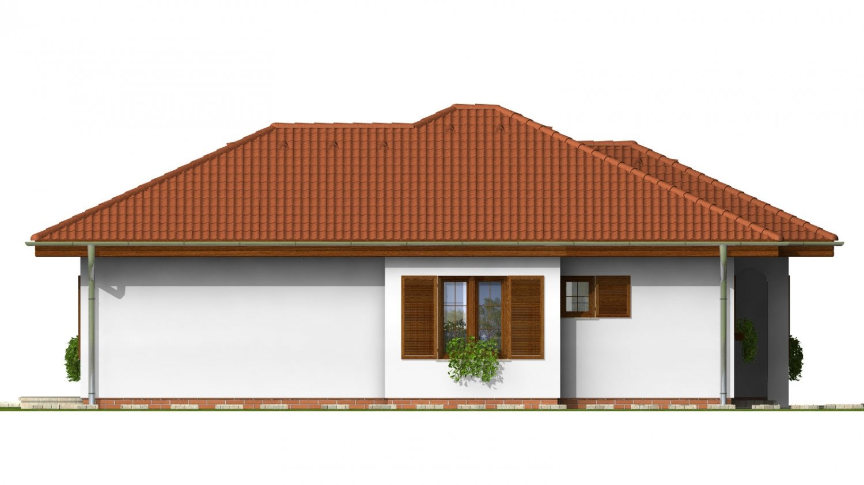 Pohľad 2. - Zaujímavý rodinný dom s garážou