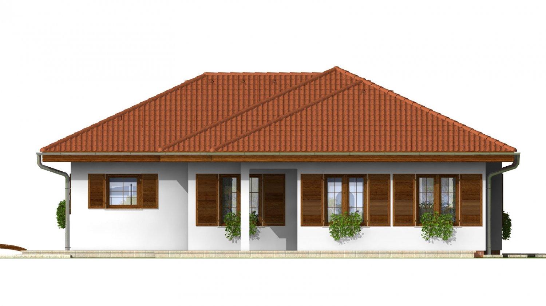 Pohľad 3. - Zaujímavý rodinný dom s garážou