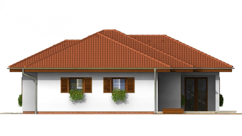 Pohľad 4. - Zaujímavý rodinný dom s garážou