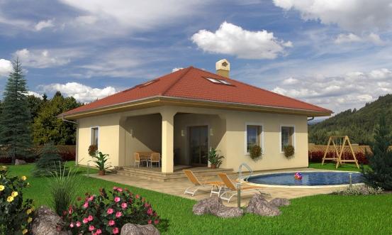 projekt domu BUNGALOW 78
