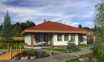 projekt domu BUNGALOW 79