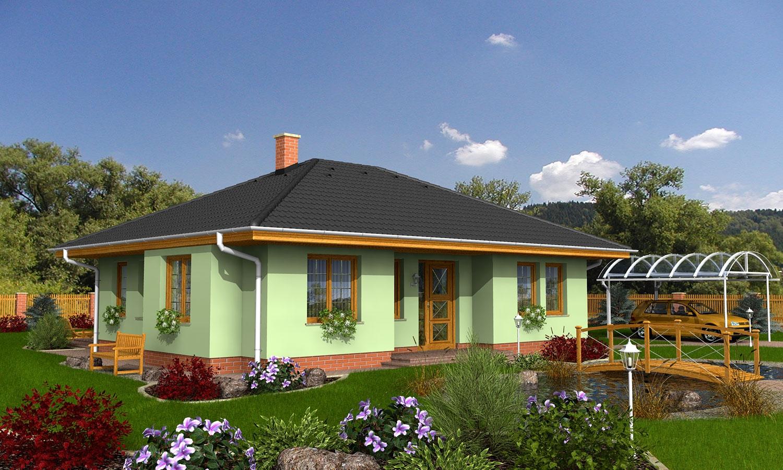 projekt domu BUNGALOW 8