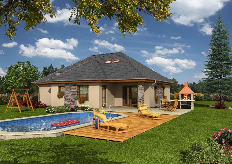 projekt domu BUNGALOW 81