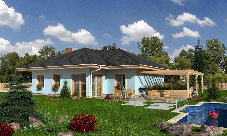 projekt domu BUNGALOW 82