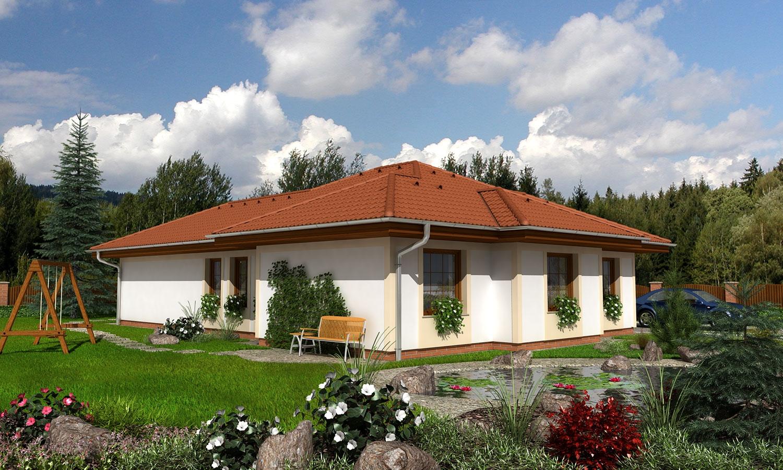 projekt domu BUNGALOW 85