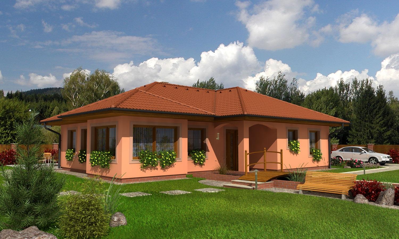 projekt domu BUNGALOW 87