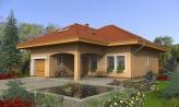 Exkluzívny bungalov s obytným podkrovím