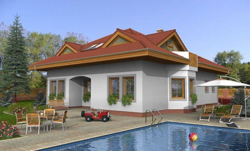 projekt domu BUNGALOW 89