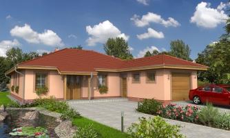 Nádherný murovaný dom s garážou a priestranným suterénom. Možnosť realizácie bez suterénu.