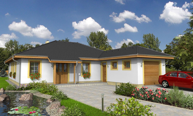 projekt domu BUNGALOW 9